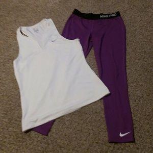 Nike 2 piece.